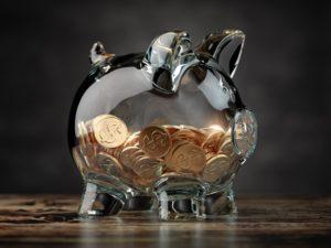 piggy-bank- reflects bright future